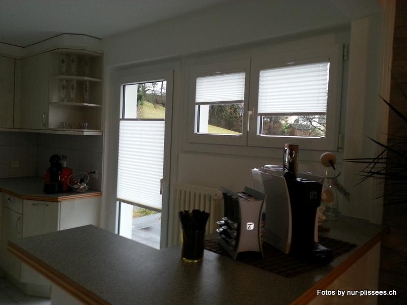 Plissee BB24 in der Küche