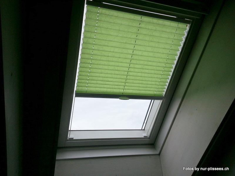 Plissee DB Modelle für Dachfenster