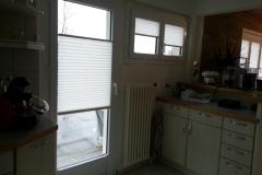 Modell BB24 Plissee in der Küche