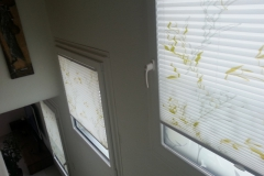 Plissee BB24 im Treppenhaus