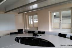 Plissee Modell BB24 im Sitzungszimmer