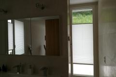 Plissee BB24 im Badezimmer