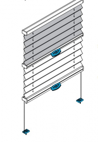 DB30 Dachfenster Plissee Tag & Nacht