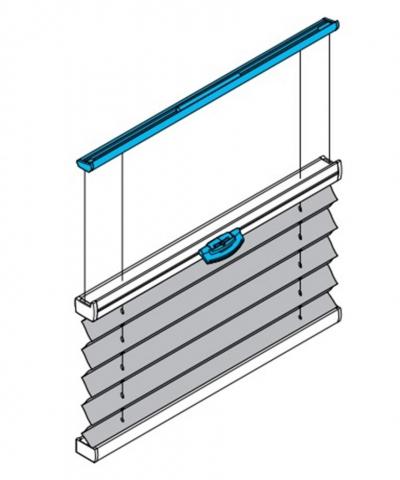 PB15 Plissee für Plafondfenster / Wintergarten