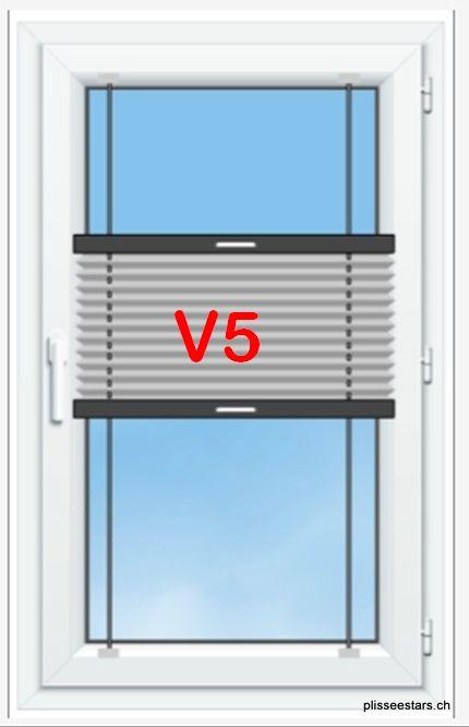 Plissee STARS Modell V5 für Dachfenster