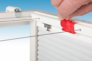 Spannvorrichtung für Dachplissees